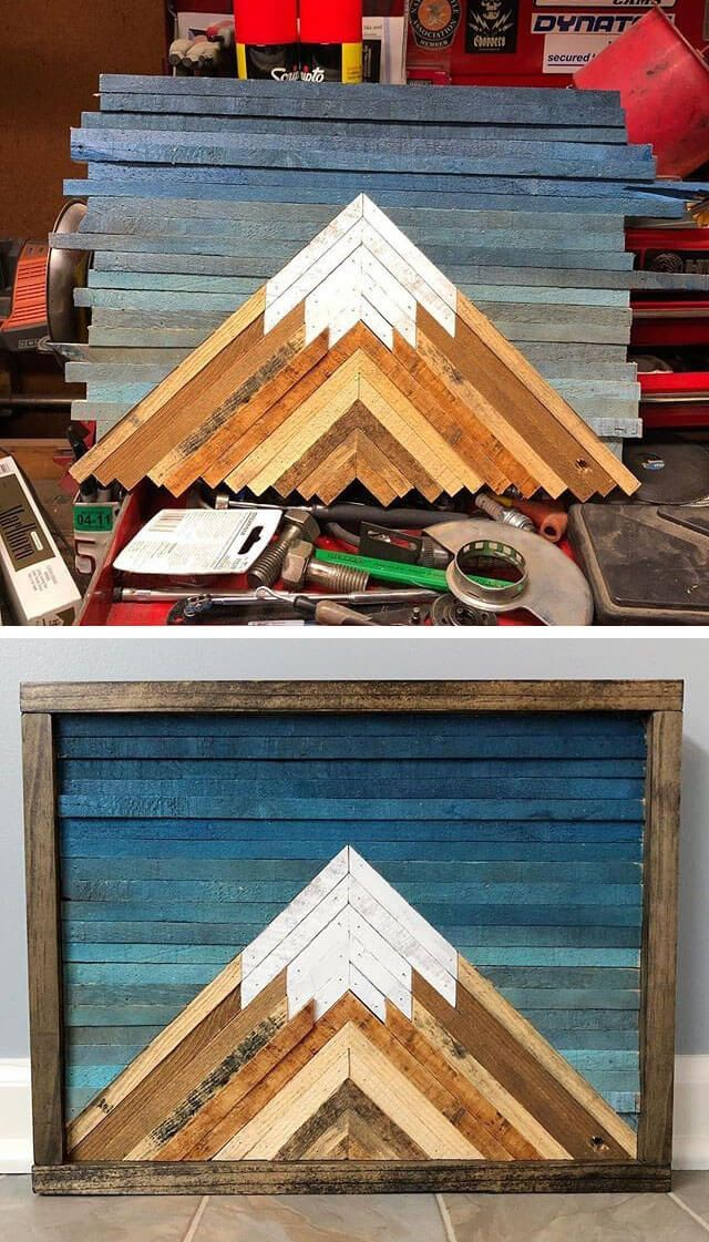 Pallet Mountain art