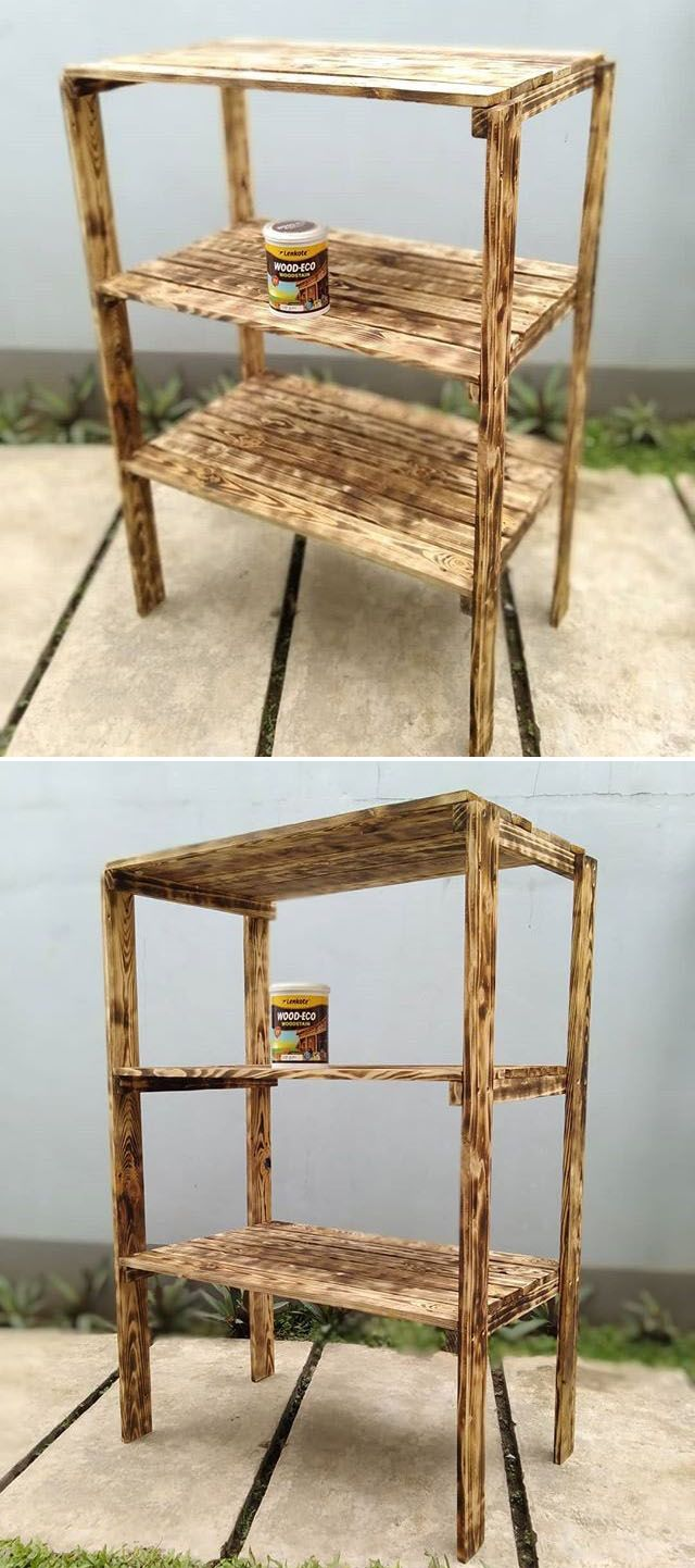 Pallet shelf projects