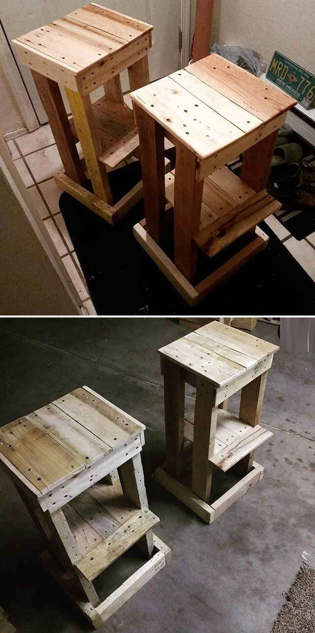 Pallet table ideas projects