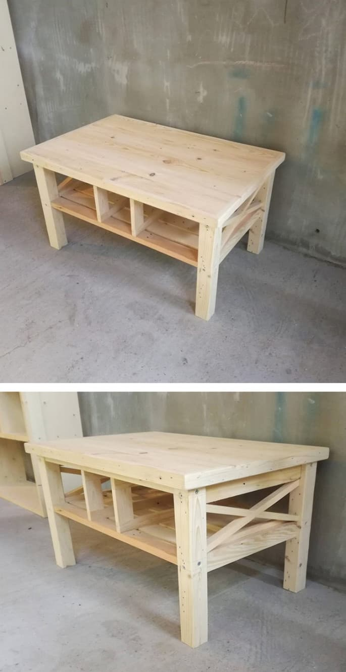small pallet coffee table ideas for meetings