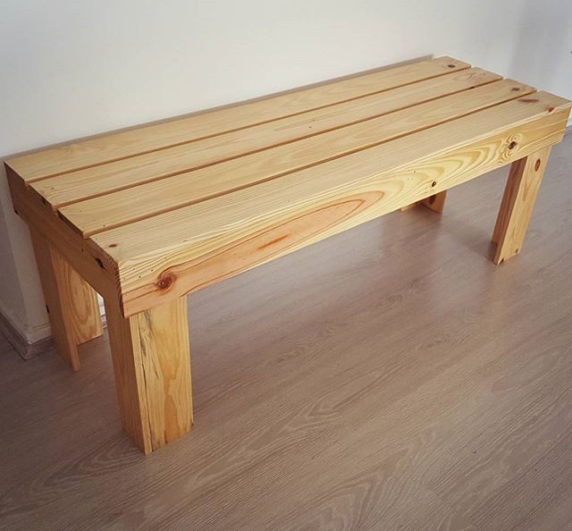 Pallet bench ideas
