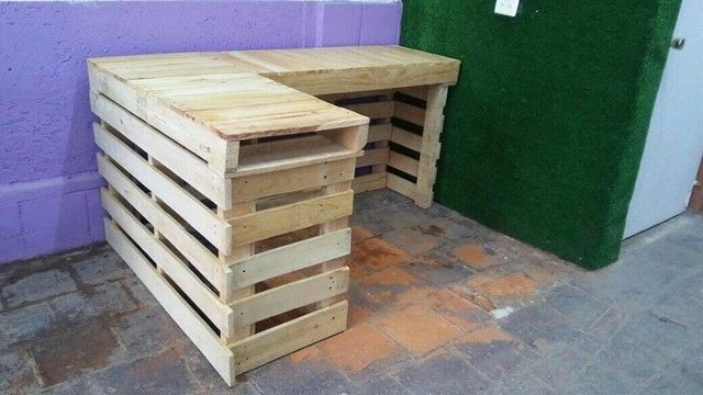 Pallet Wine bar projects
