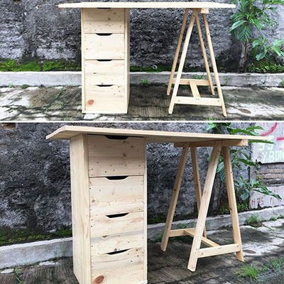 Top 34+ Awesome Wood Pallet Furniture Ideas 2019