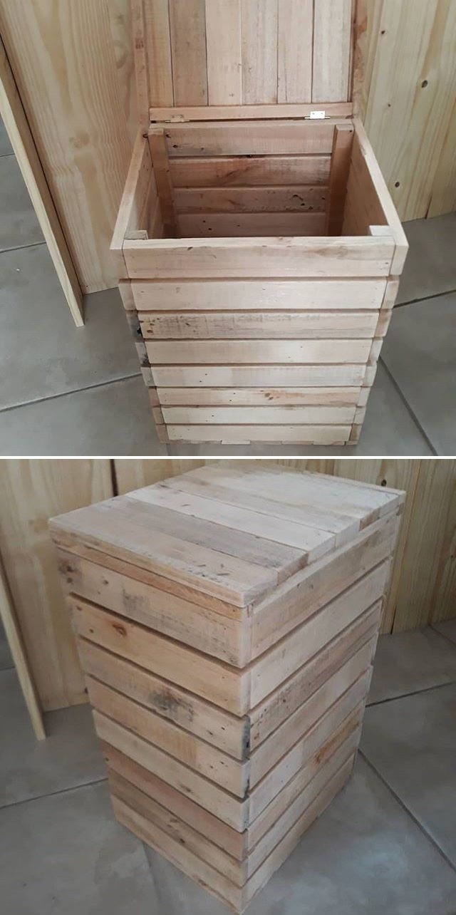 Pallet storage box ideas-15