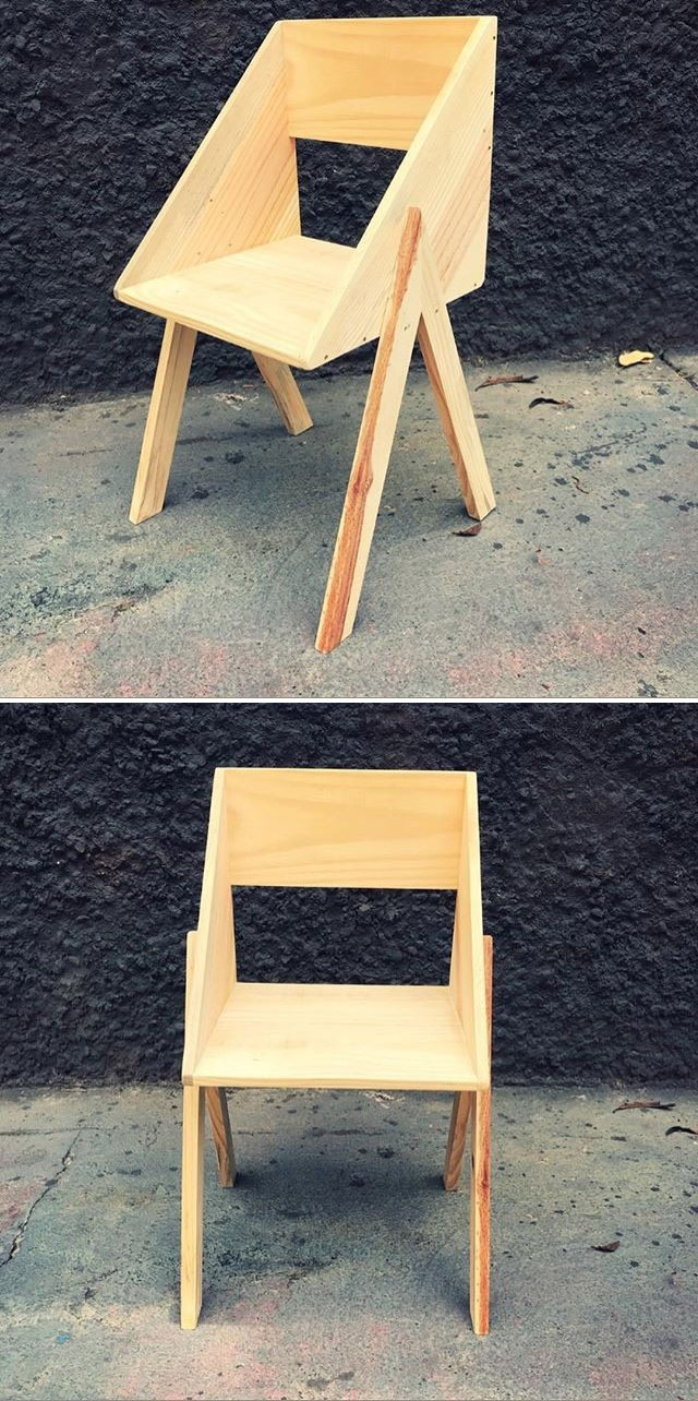 Pallet mini chair ideas