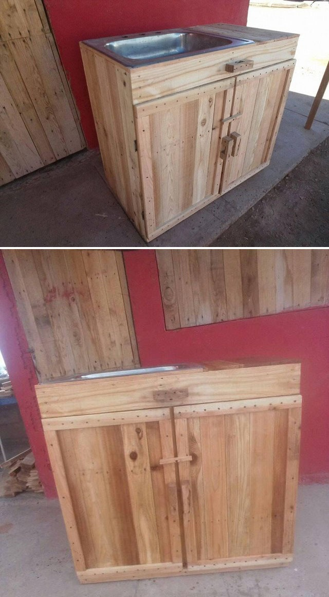 Pallet cabinets ideas