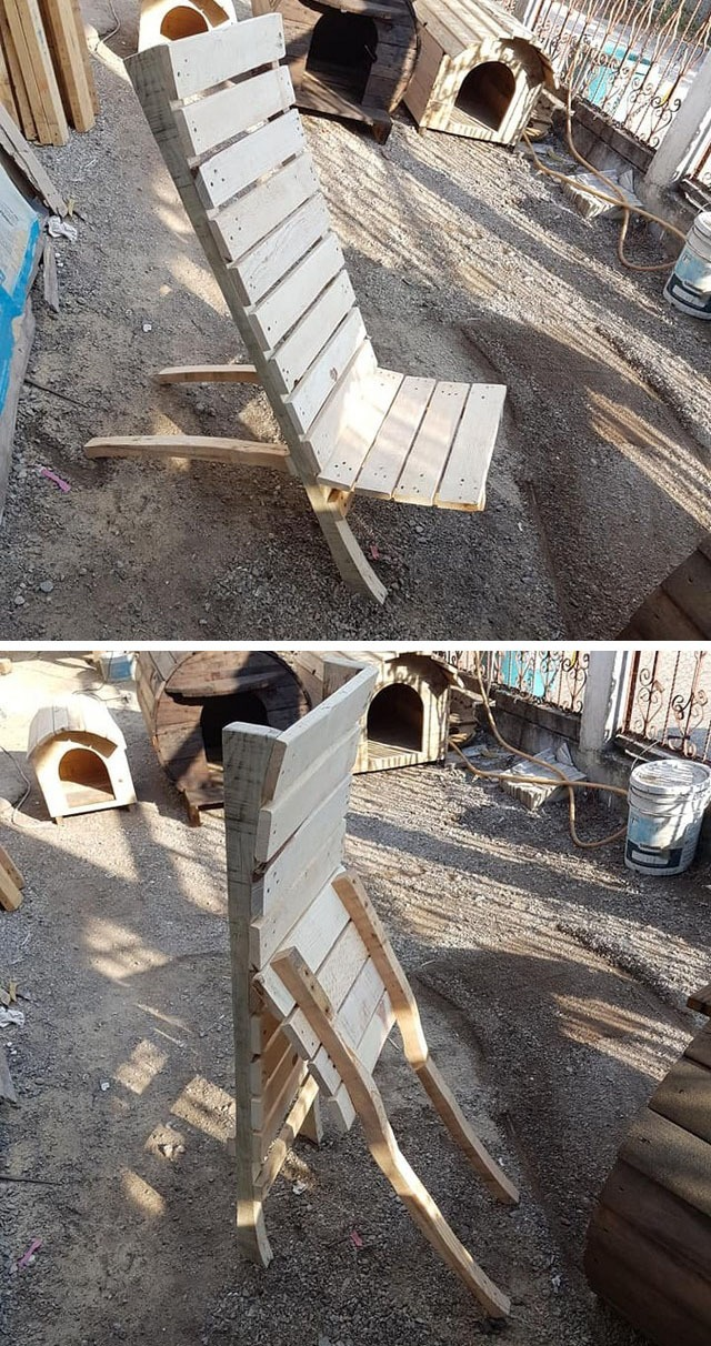 Pallet outdoor furniture ideas