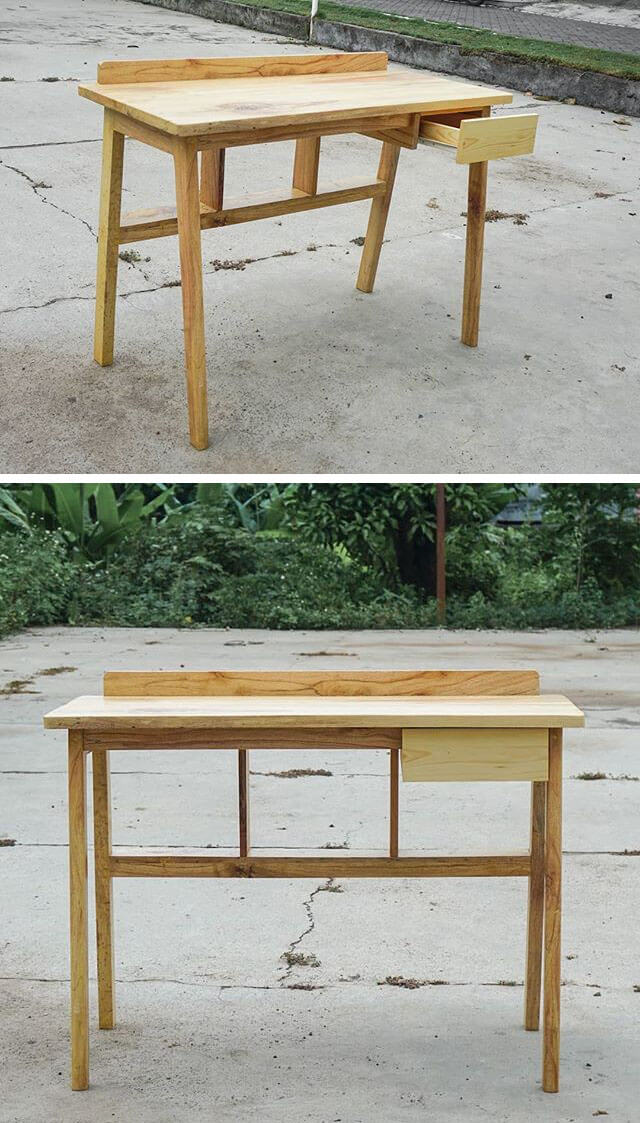 pallet office computer table ideas