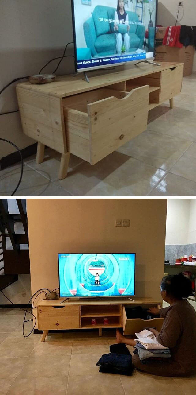 pallet tv stand ideas