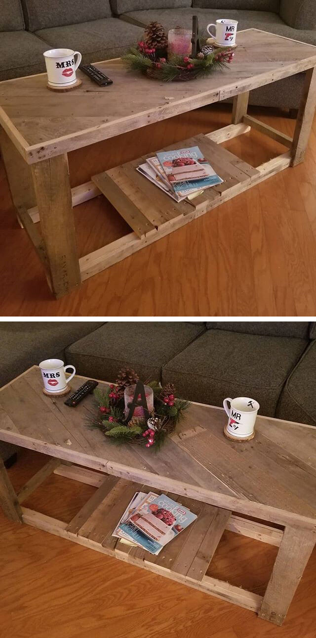 pallet wall table ideas