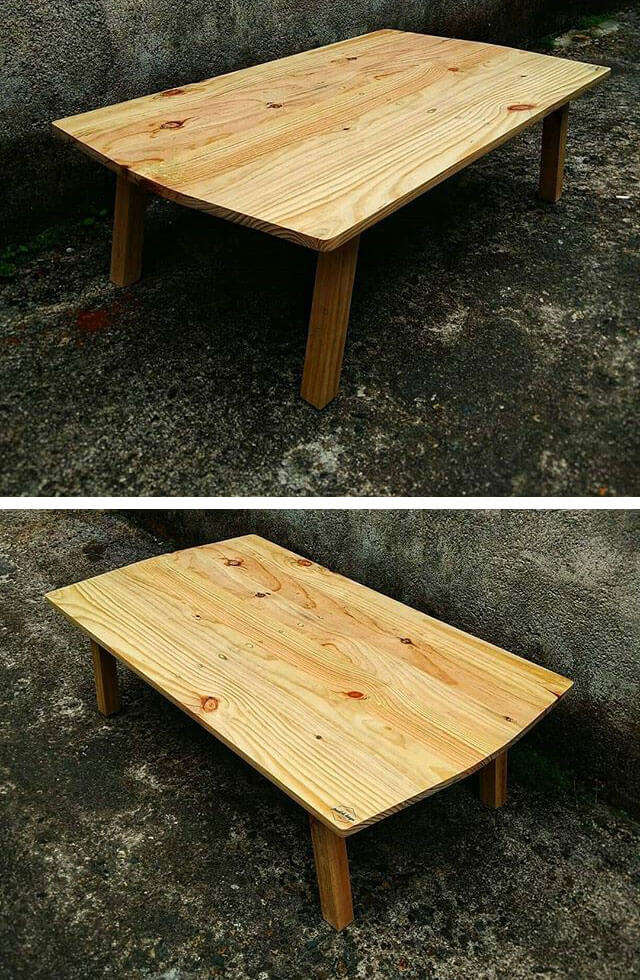 easy wood pallet table ideas