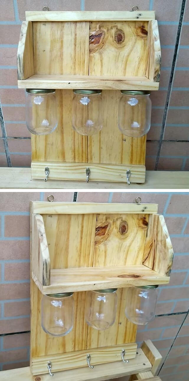 pallet wall hanger ideas