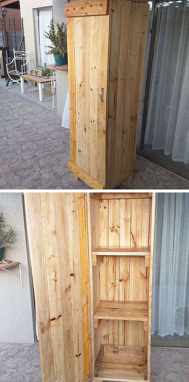 pallet cabinets with drawer