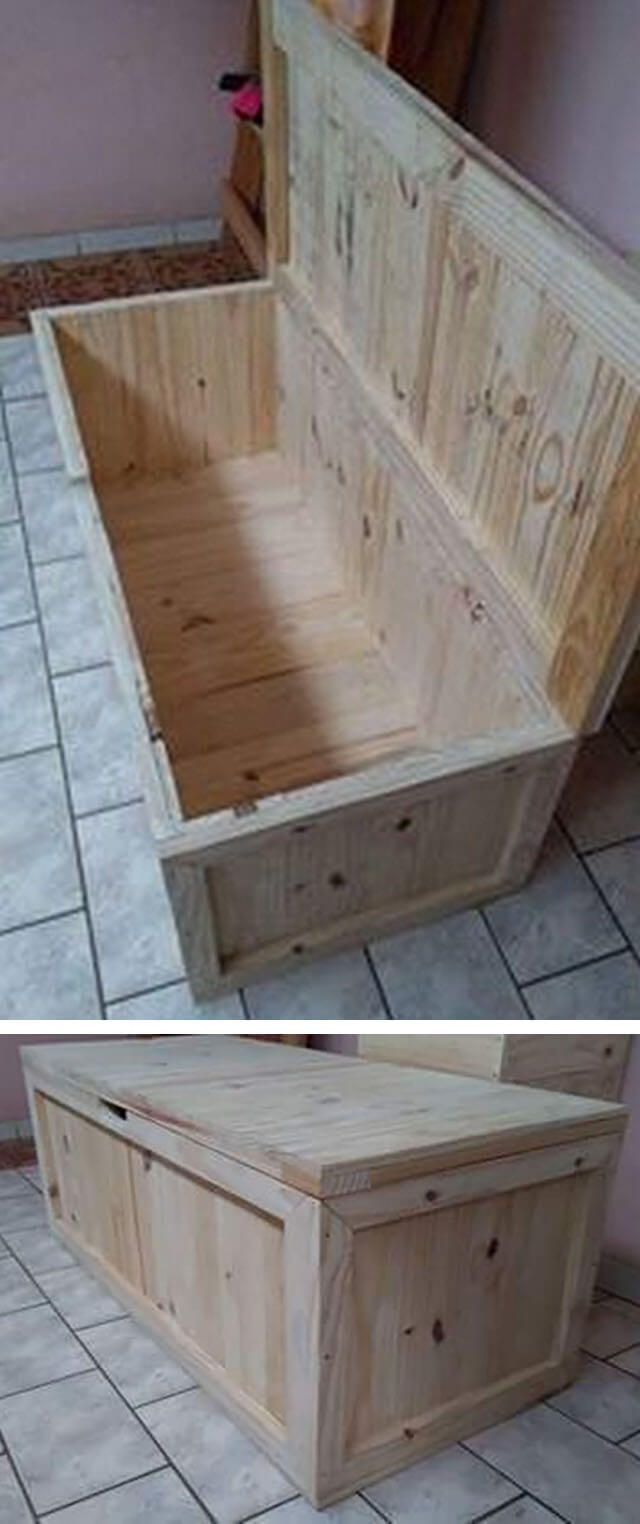 Modish Pallet Wood Indoor Project Ideas