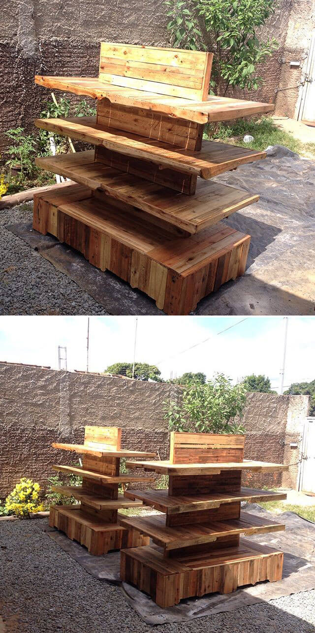 DIY Low Cost Rustic Pallet Projects Ideas
