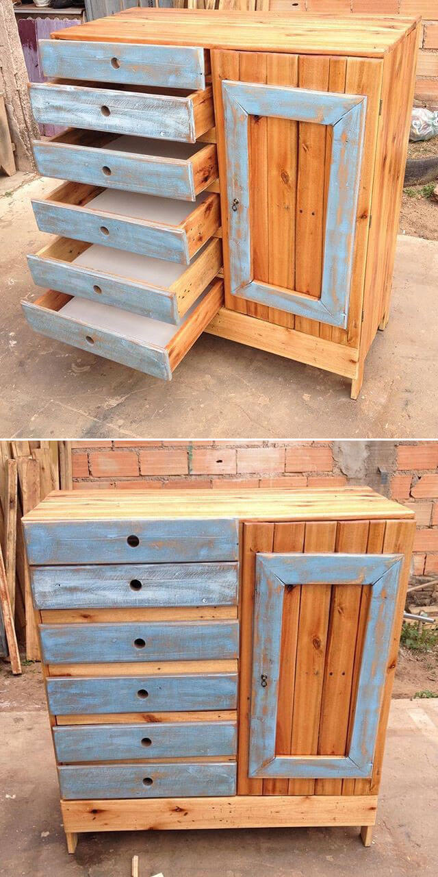 easy pallet drawer ideas
