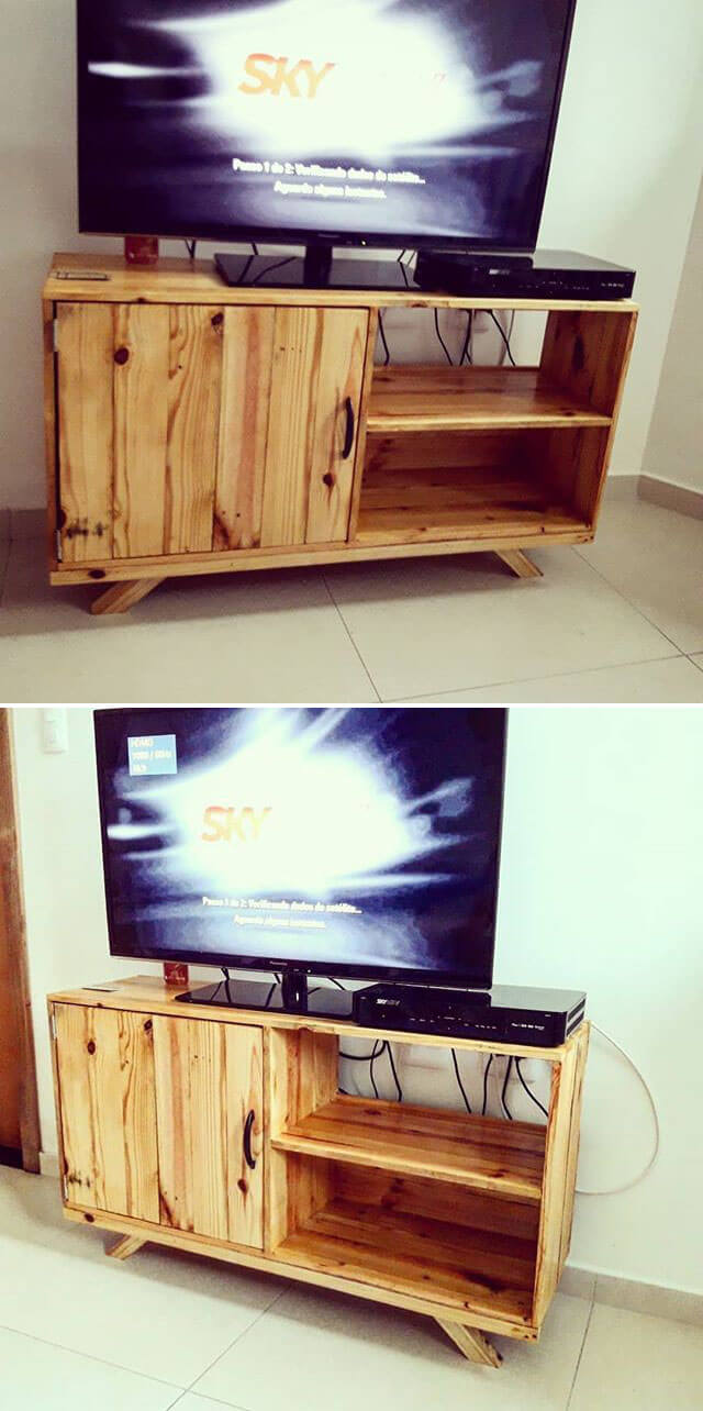 pallet tv stand project ideas
