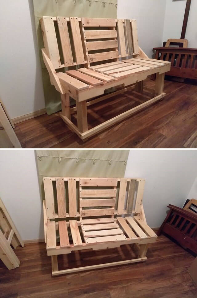 53 Best Pallet Projects Made From Old Wood -Pallets idea