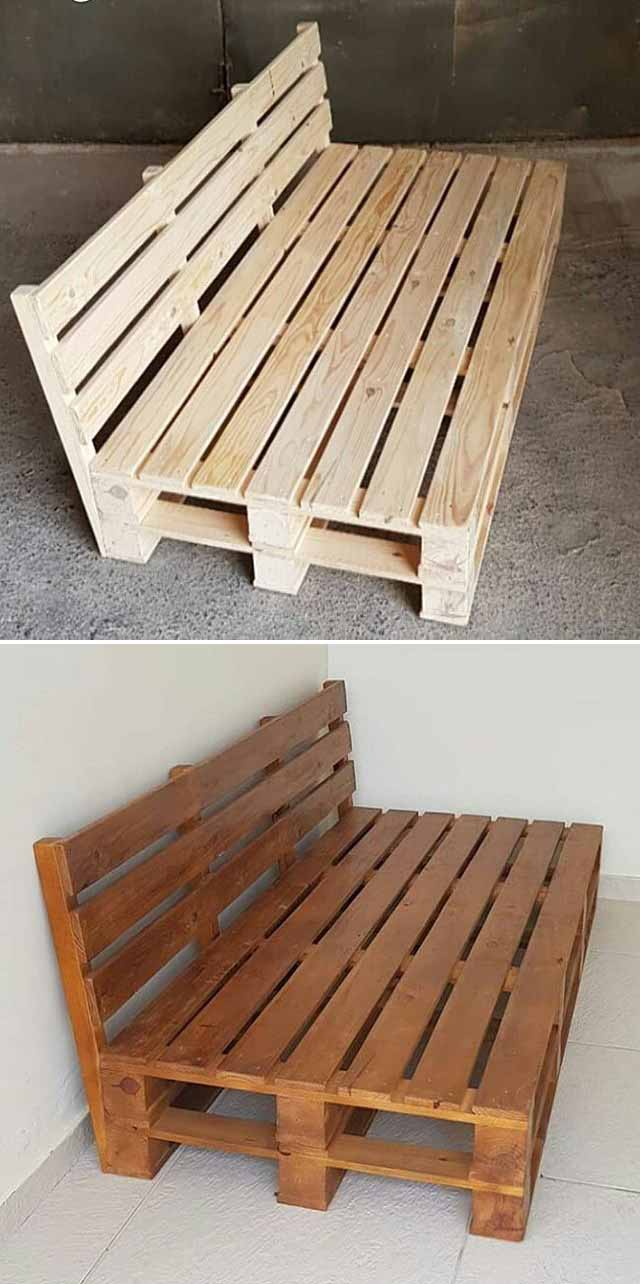 Best 30 Pallet Furniture Ideas & Projects