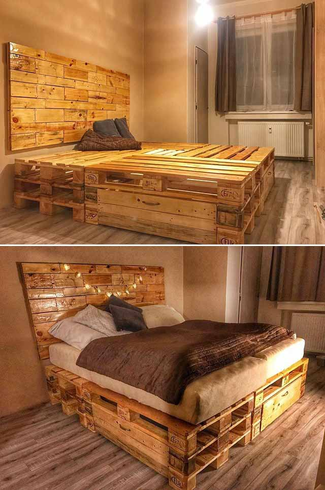 Wonderful Wood Pallet Furniture Ideas