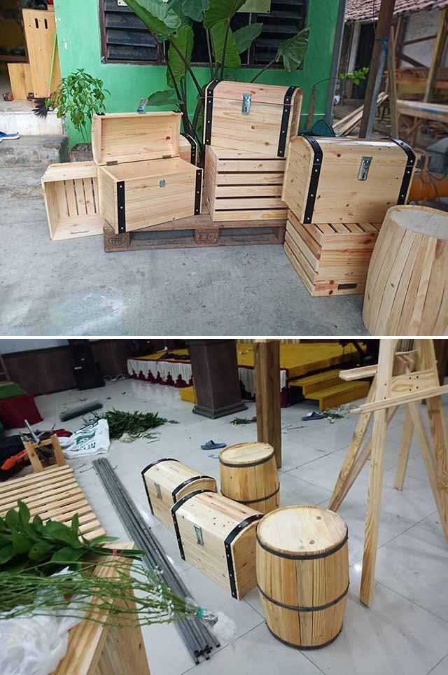 Simple & Classic Wooden Pallet Project Ideas