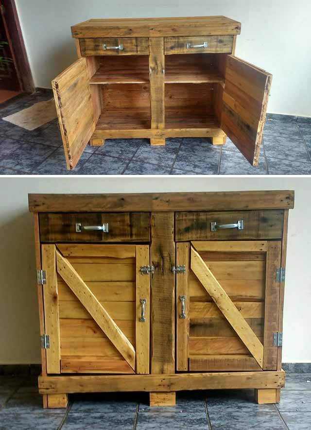 Amazing & Fabulous Indoor Wooden Pallet Projects