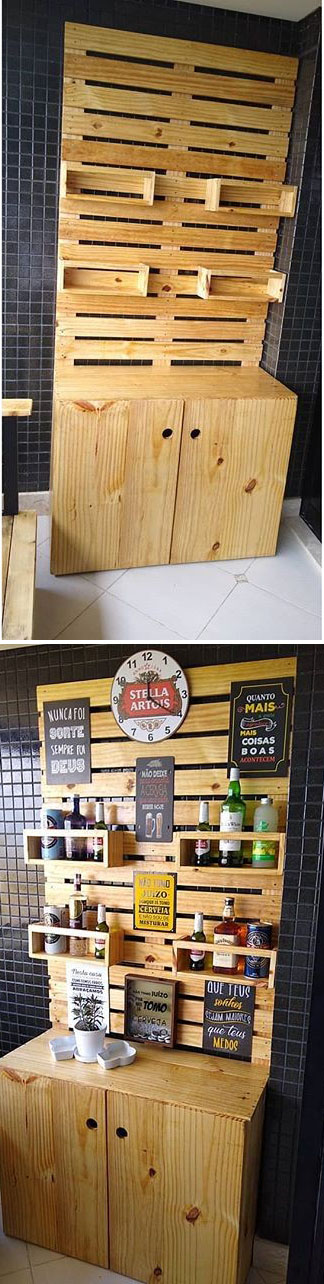 Trendy and Sustainable Home Decor ideas with Pallet Furniture