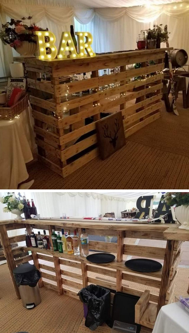 26+ Rustic DIY Wood Projects for your Living Room